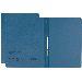 Dosar din carton cu sina Leitz - albastru