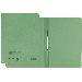 Dosar din carton cu sina Leitz - verde