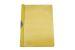 Dosar din plastic cu clema metalica Exiton - galben