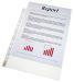 File pt. protectia documentelor A4 Esselte - 55µ, cristal (100 buc/cut)