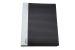 Clasor plastic pt. carti de vizita A4 Exiton - 600 carti, negru
