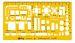 "Sablon Rotring ""Furniture"" 1:100 - galben transparent"
