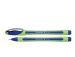 Liner 0.8 mm Schneider Xpress - corp verde, scriere albastru