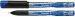 Liner 0.4 mm Schneider 911 - corp gri metalizat, scriere albastra