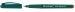 Rollerball 0.3 mm Centropen 4615 - corp verde, scriere rosie