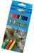 Creioane colorate mari Centrum Zoo -12 culori/set