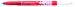 Pic cu rescriere Centropen 3649 - corp rosu, scriere albastra
