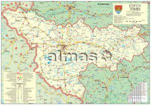 Almas Office Catalog Harta Generala A Judetului Timis Cu Sipci